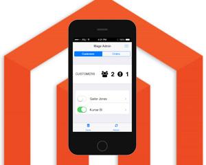 mobile admin for magento